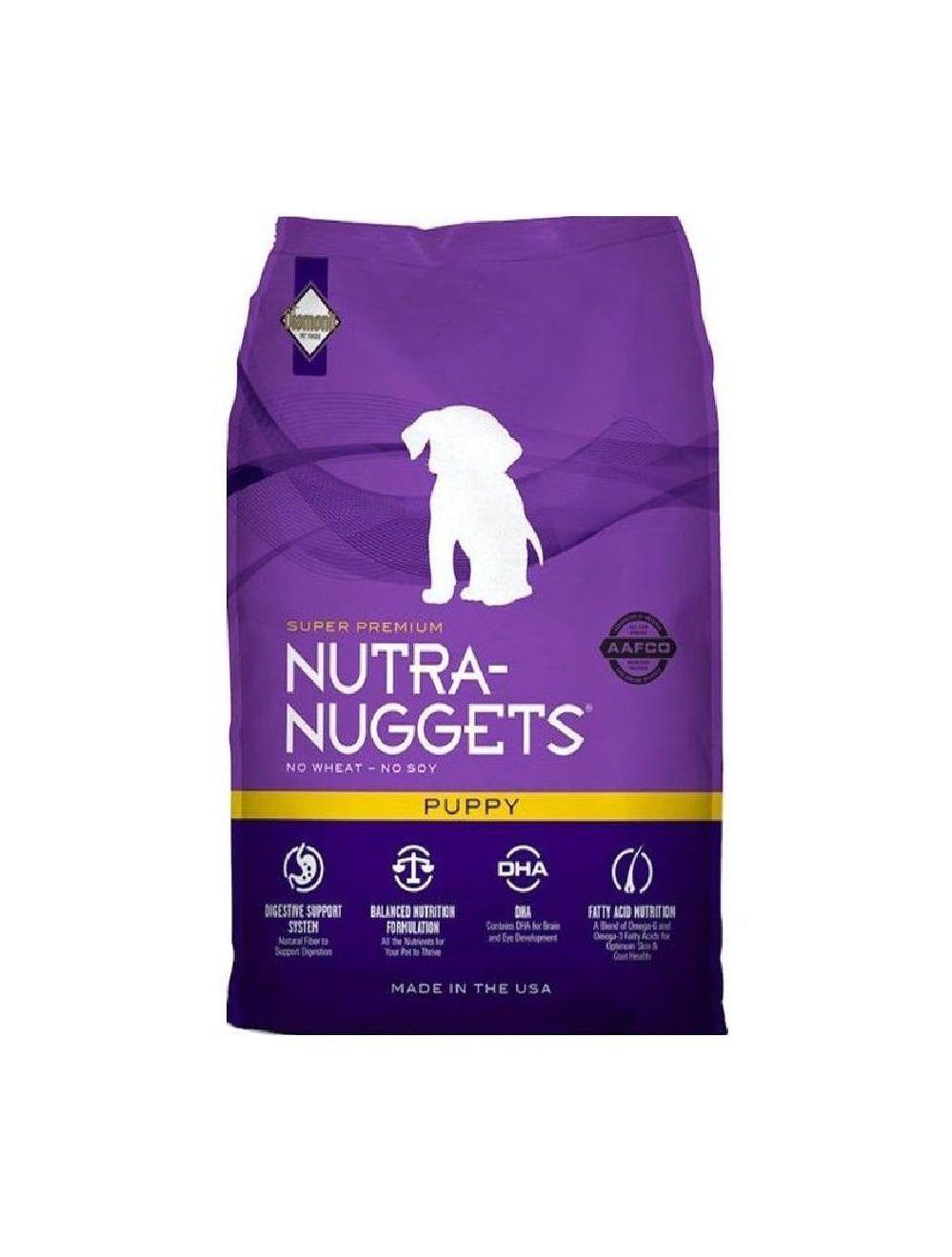 Comida Nutra Nuggets Cachorro (15 Kg) - ciudaddemascotas.com
