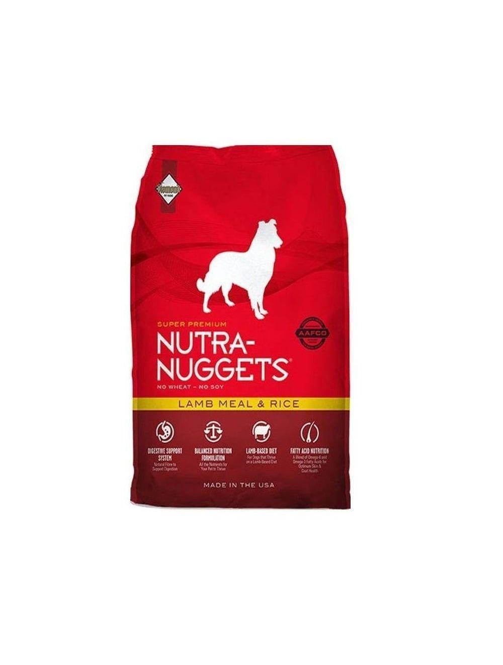 Comida Perro Nutra Nuggets Cordero Arroz-Ciudaddemascotas.com