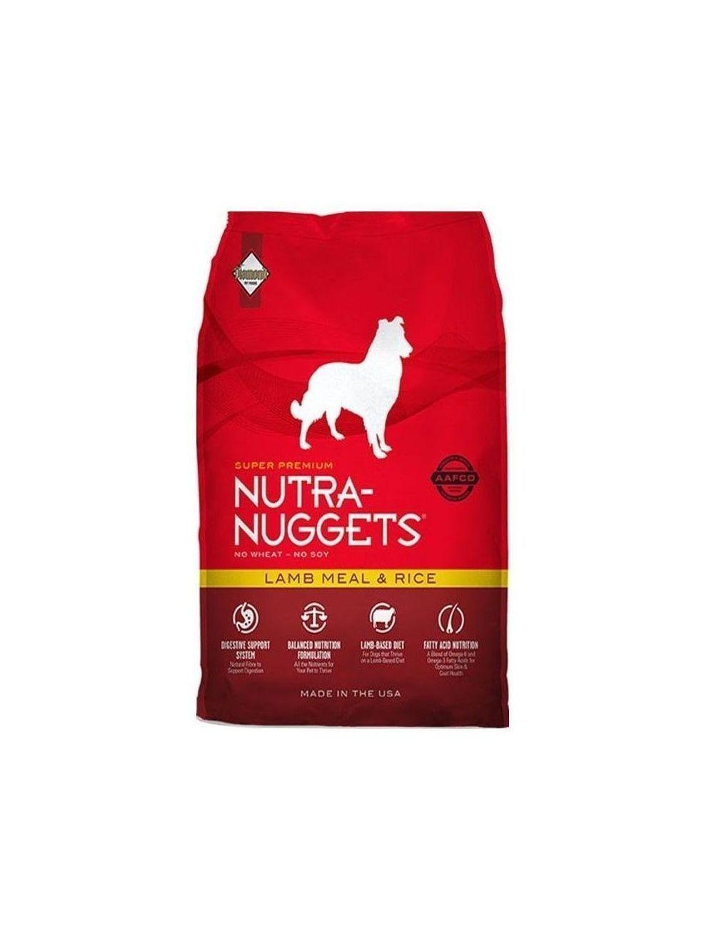 Comida para perro Nutra Nuggets Cordero-Ciudaddemascotas.com