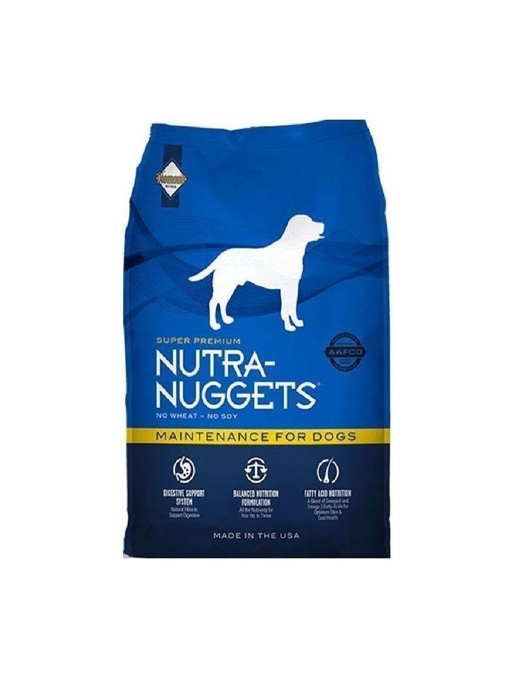 Comida Nutra Nuggets Perro Mantenimiento-Ciudaddemascotas.com