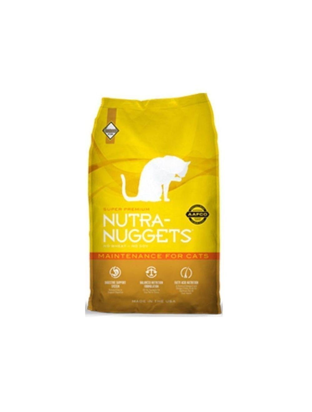 Nutra Nuggets Mantenimiento para Gatos (7,5 Kg) - Ciudaddemascotas.com