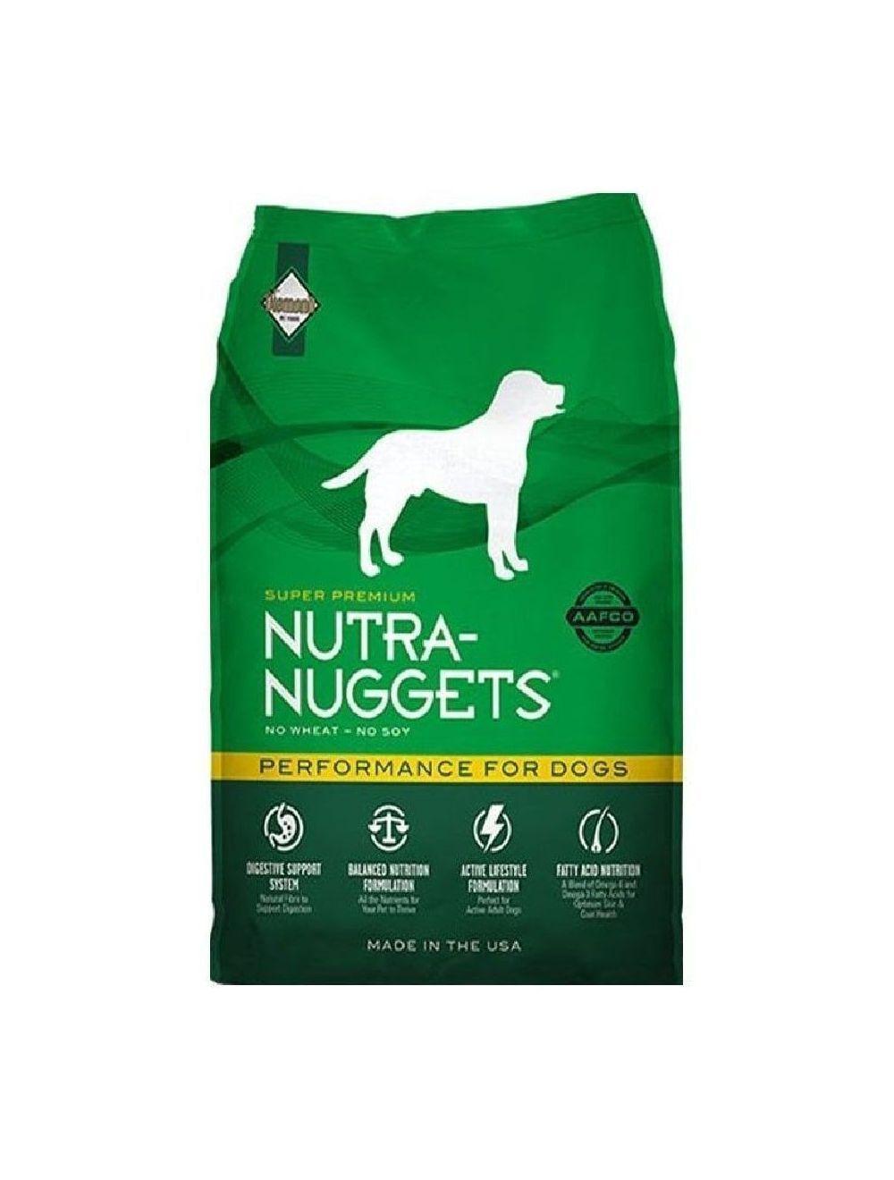 Comida Nutra Nuggets Performance (7,5 Kg) - ciudaddemascotas.com