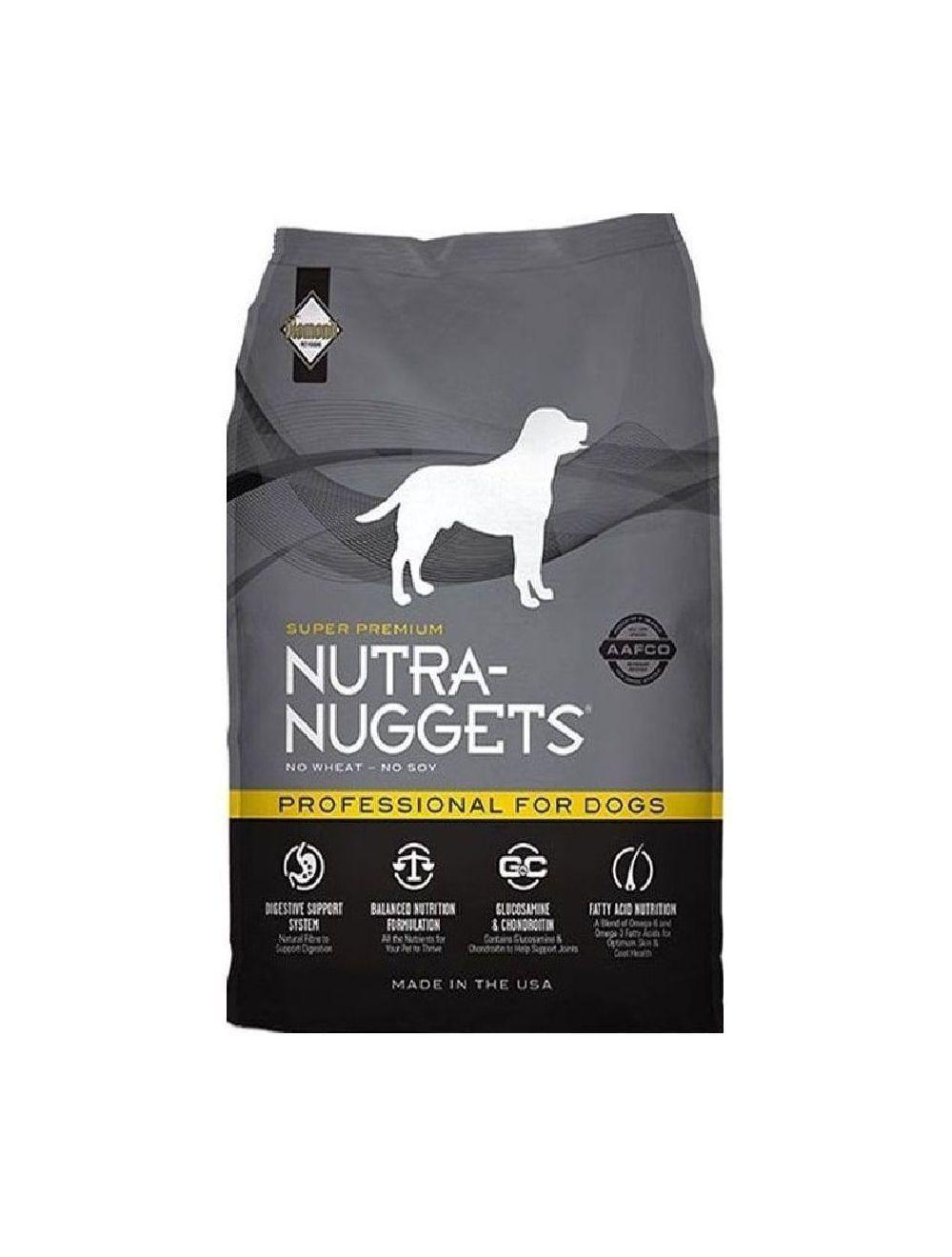 Comida Nutra Nuggets Profesional (7,5 Kg) - ciudaddemascotas.com