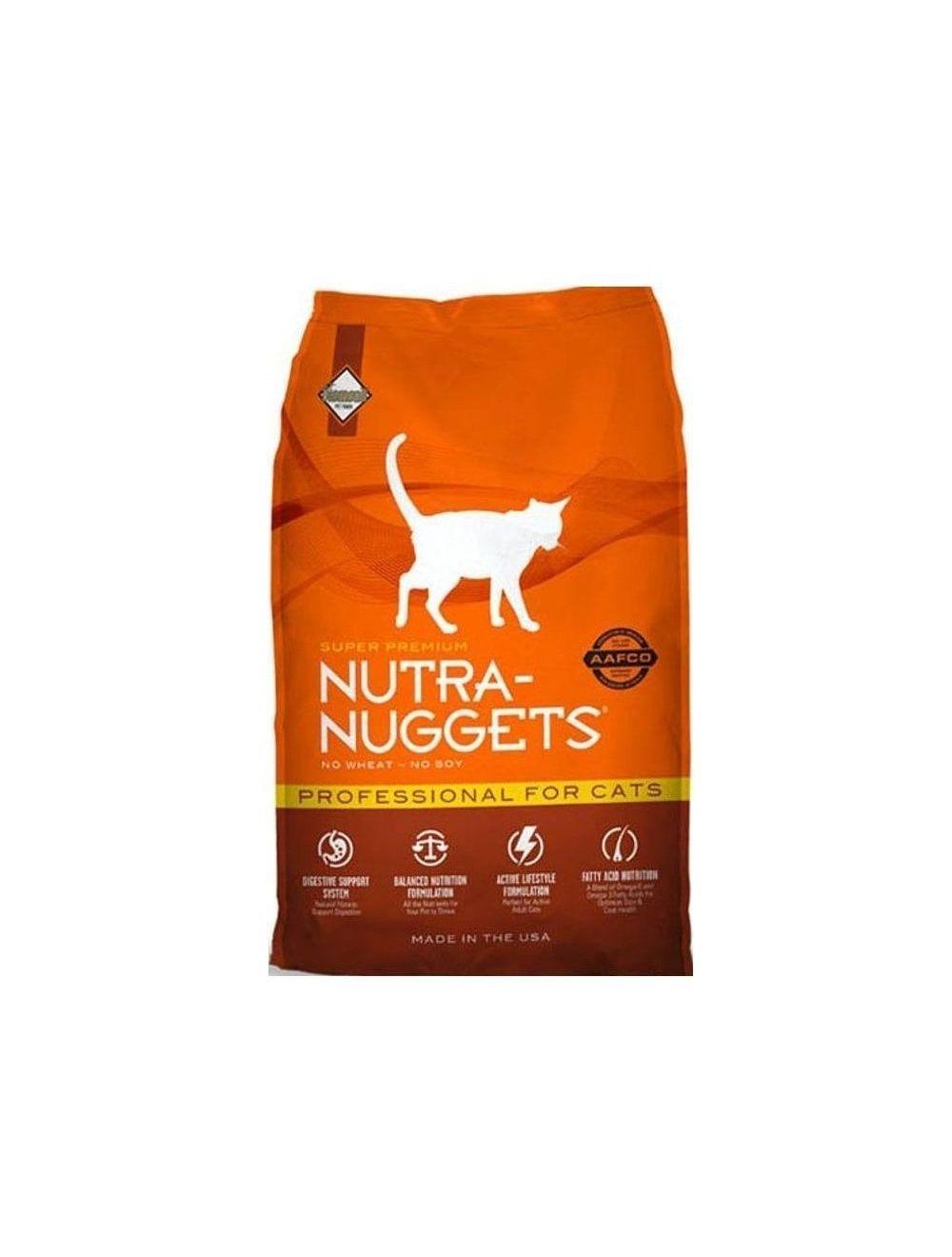 Comida Nutra Nuggets Professional Gatos - Ciudaddemascotas.com