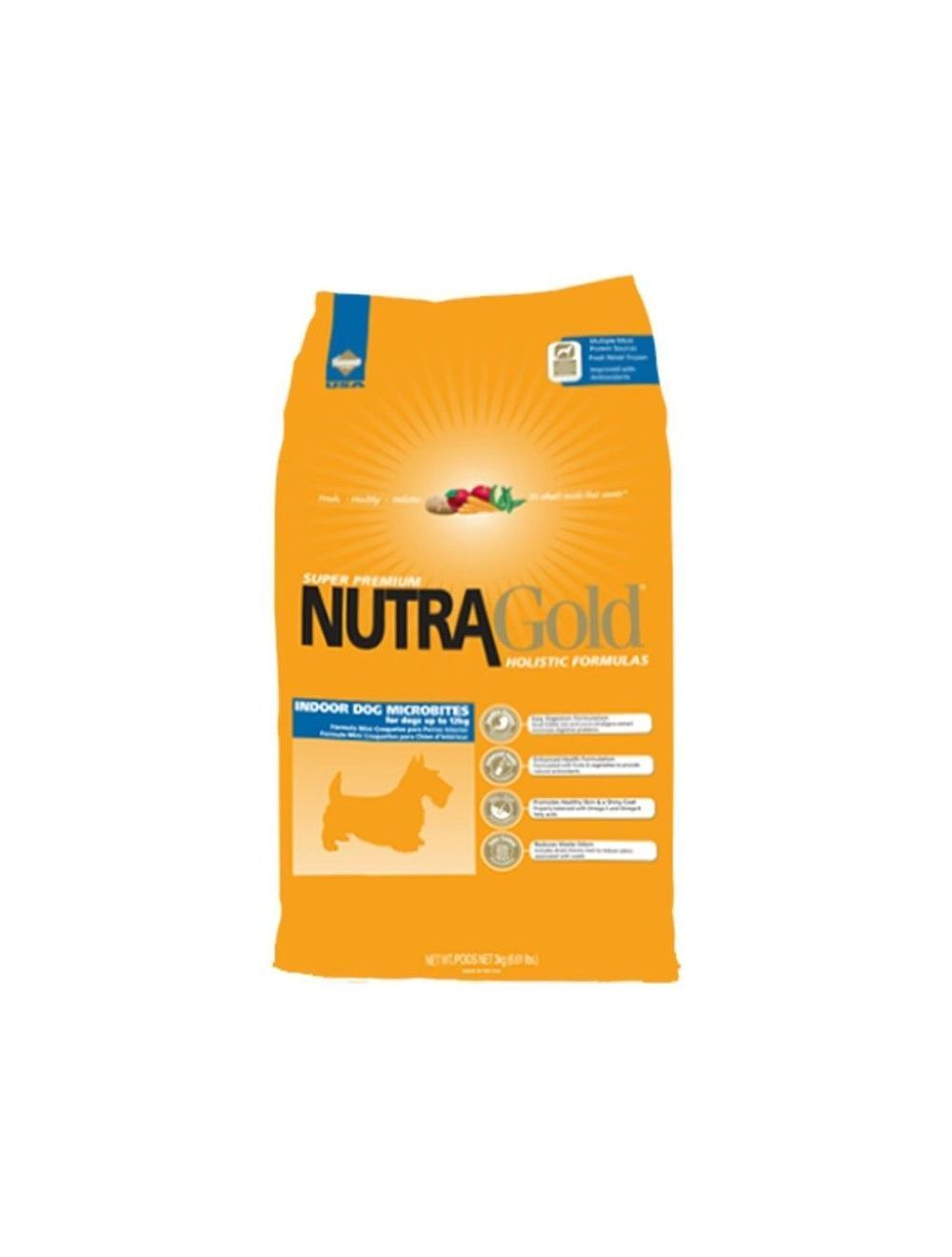 Nutra Gold Holistic Indoor Microbites x 3Kg