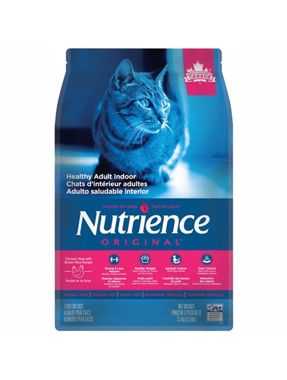 Comida Gatos NUTRIENCE GATO ADULTO INDOOR-Ciudaddemascotas.com