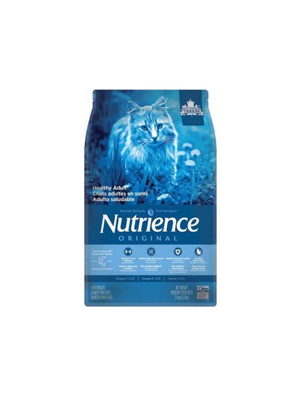 NUTRIENCE ORIGINAL GATO ADULTO SALMON x 2.5KG