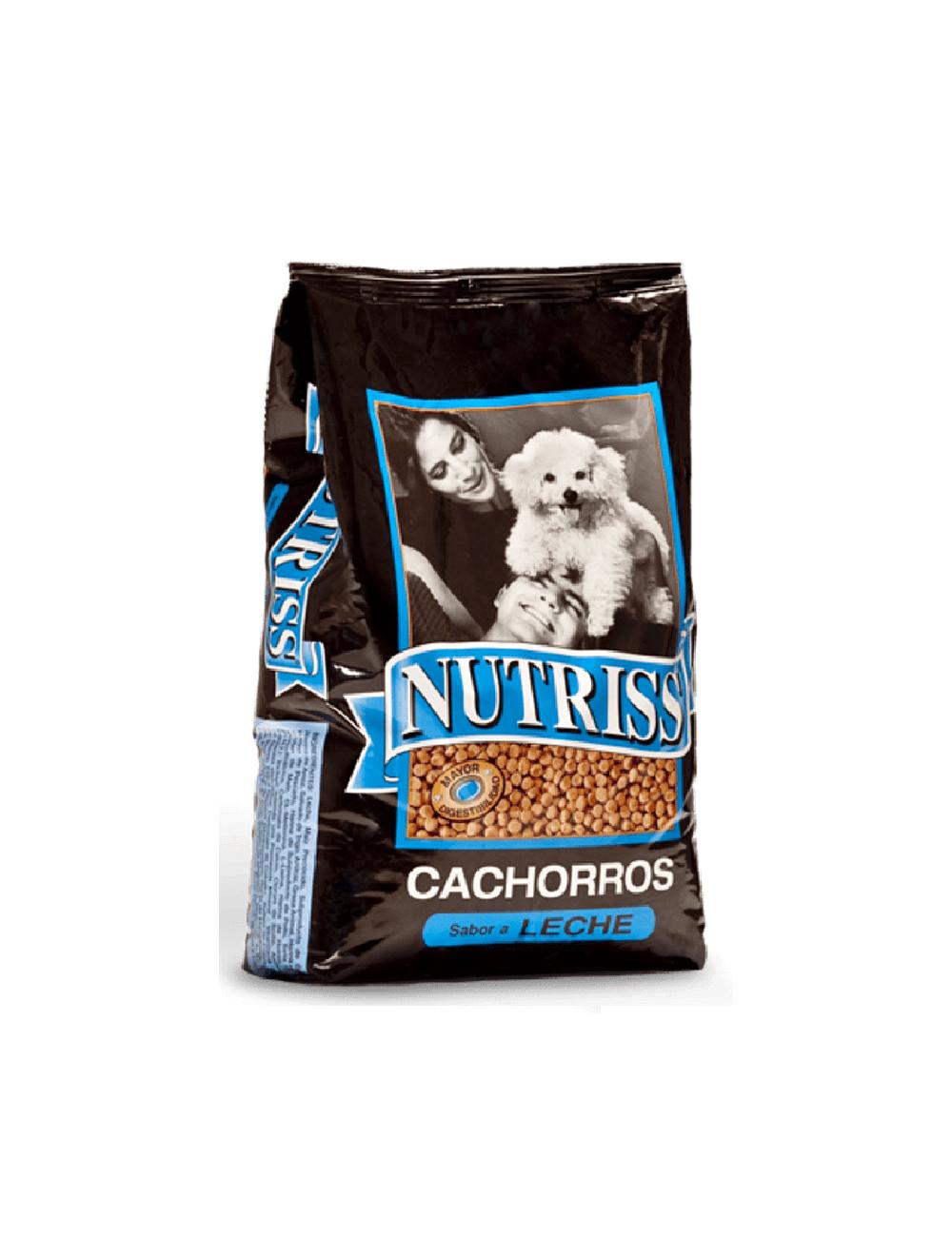 Comida para perro Nutriss Cachorros Leche-Ciudaddemascotas.com