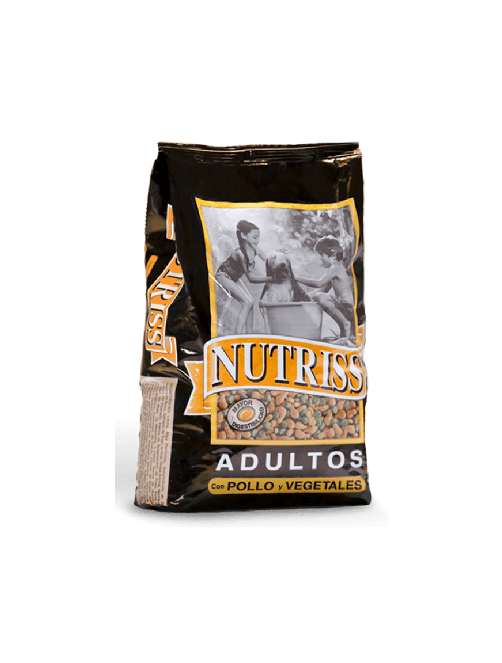 Comida para Perro Nutriss Pollo Vegetales-Ciudaddemascotas.com