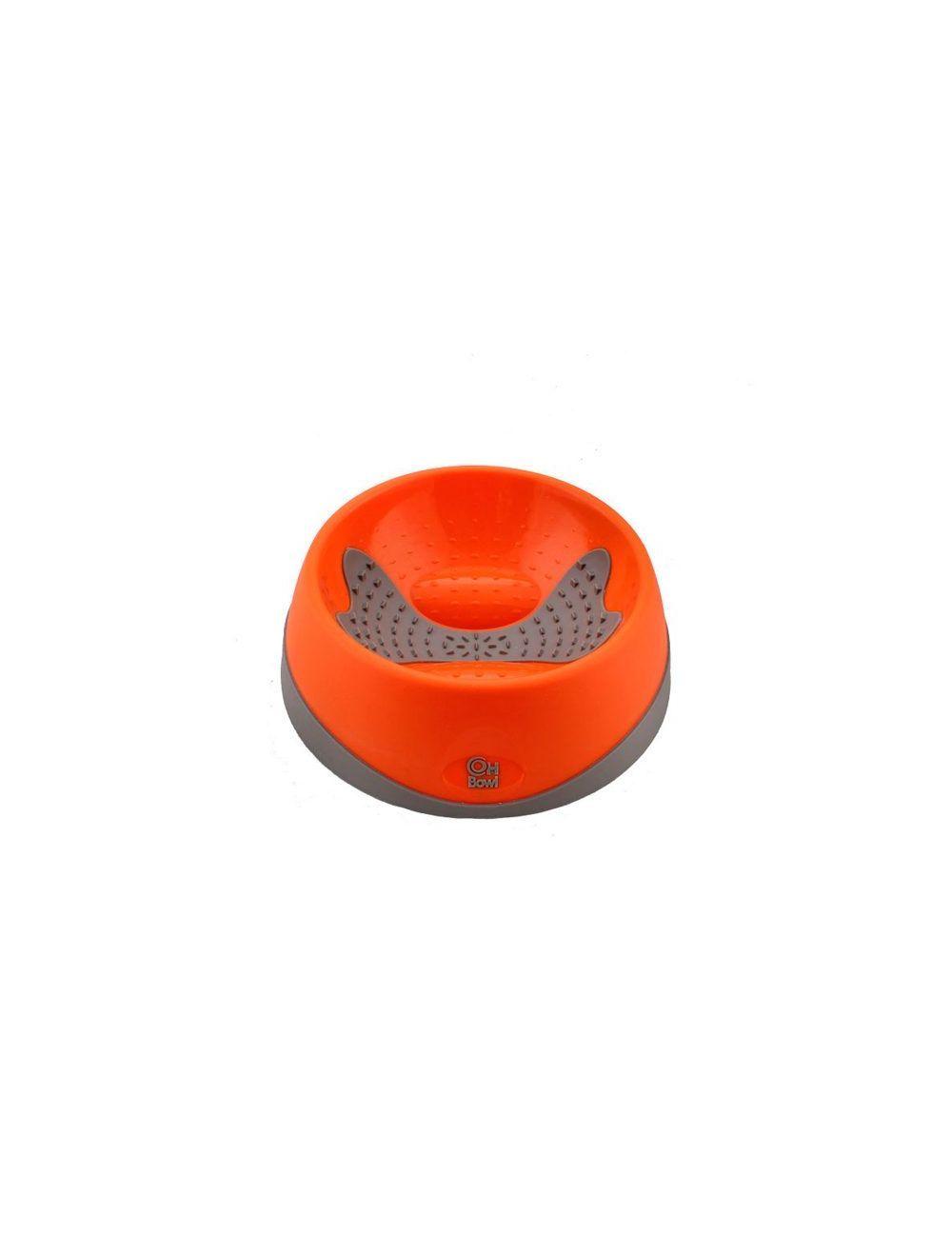 Hyper pet OHBowl naranja mediano