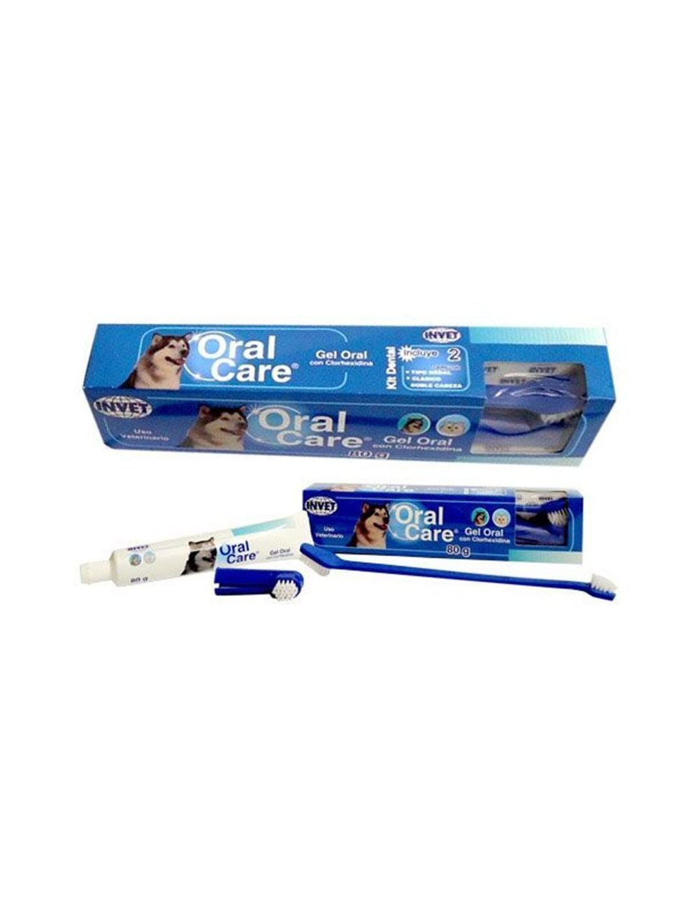 Oral Care Kit Dental para Perro 80 g