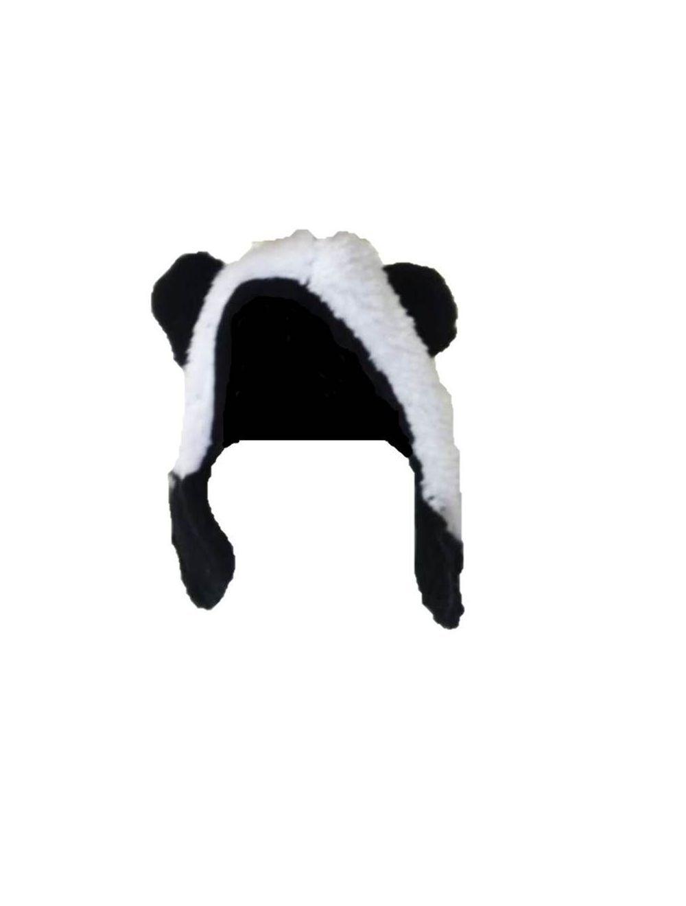 Orejas Ajustables Oso Panda Talla M -L - PRSR