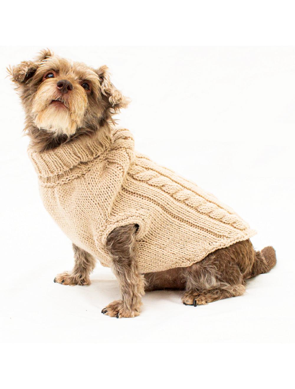 Saco Parker para Perros Beige M - Ciudaddemascotas.com