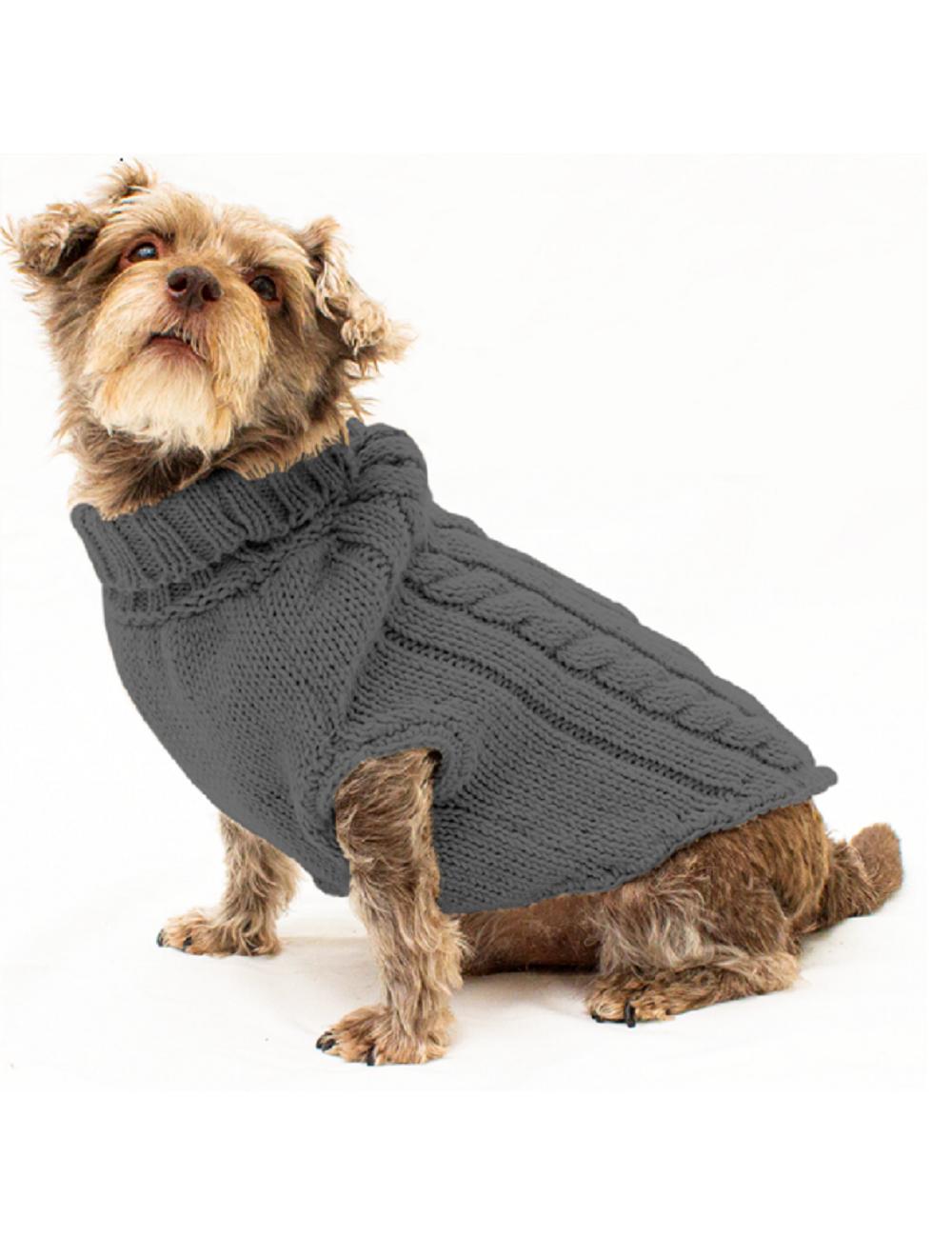 Saco Parker para Perros Gris Oscuro L - Ciudaddemascotas.com