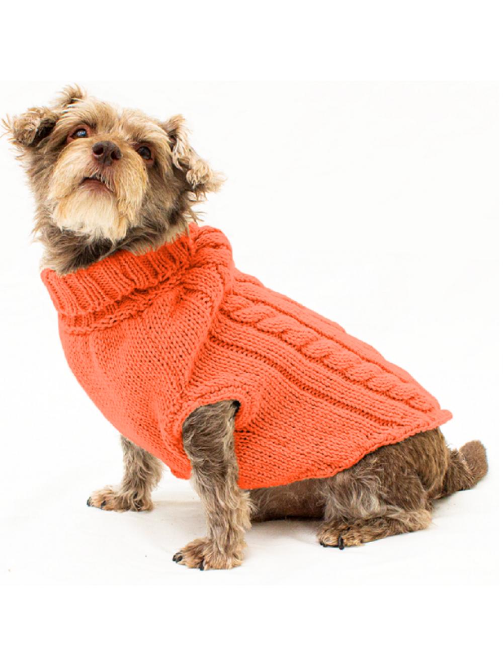Saco Parker para Perros Naranja S