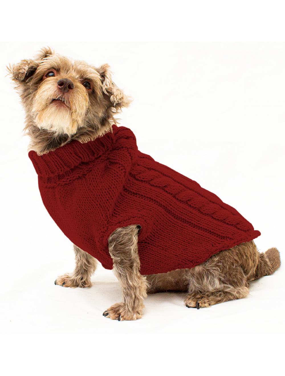 Saco Parker para Perros Vinotinto S - Ciudaddemascotas.com