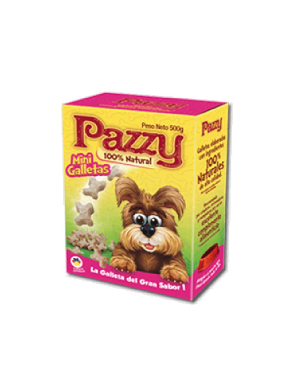Galletas Pazzy Mini para Perro Caja