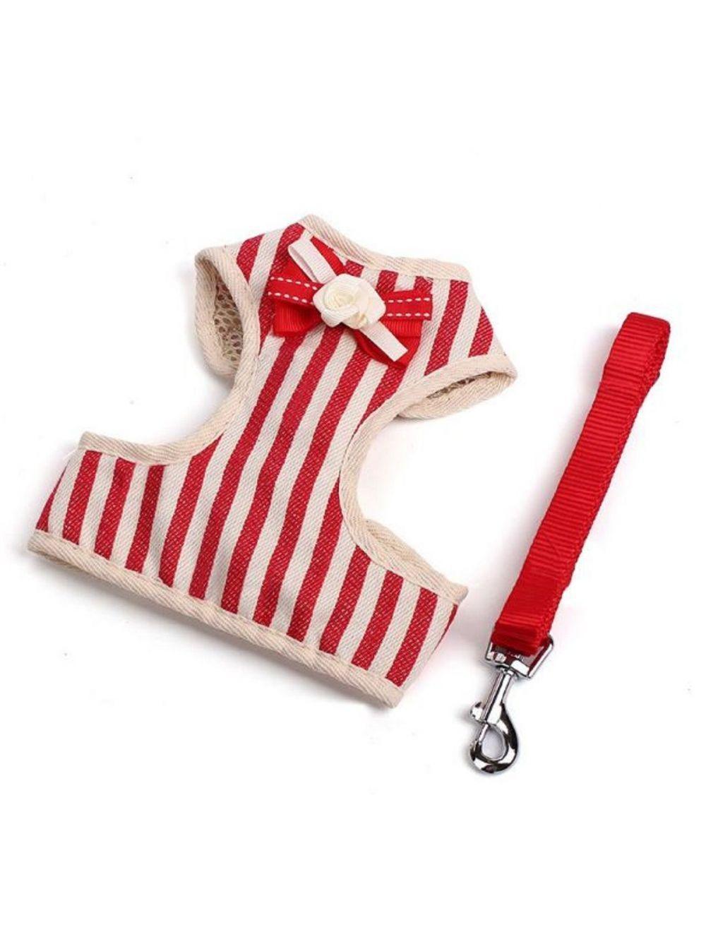 Pechero Especial Ajustable para mascota - Rojo S