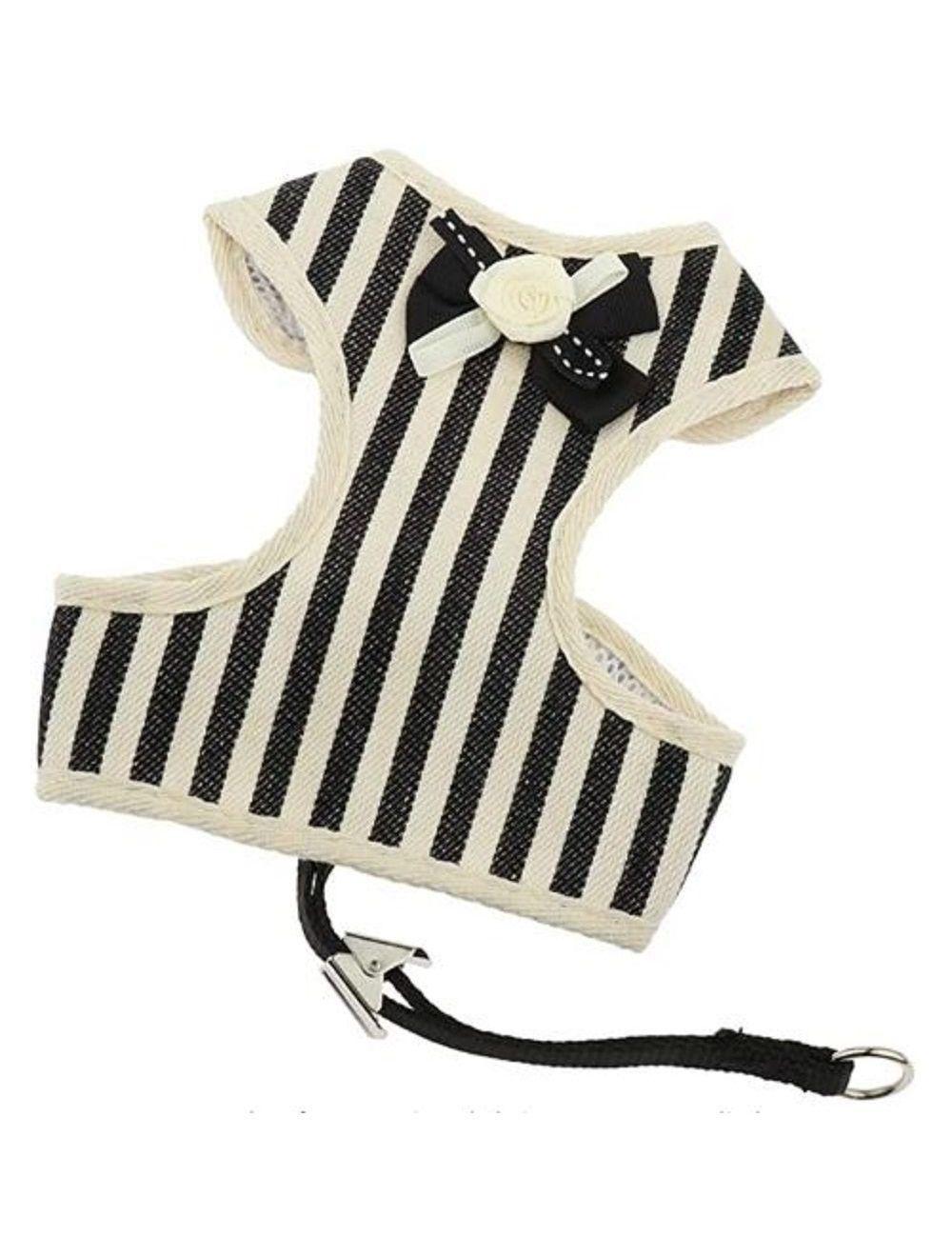 Pechero Especial Ajustable para mascota - Negro S