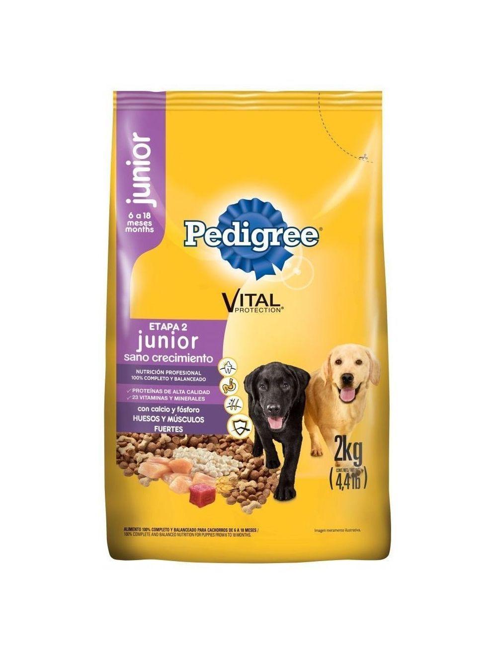 Comida Pedigree Junior Sano Crecimiento - Ciudaddemascotas.com