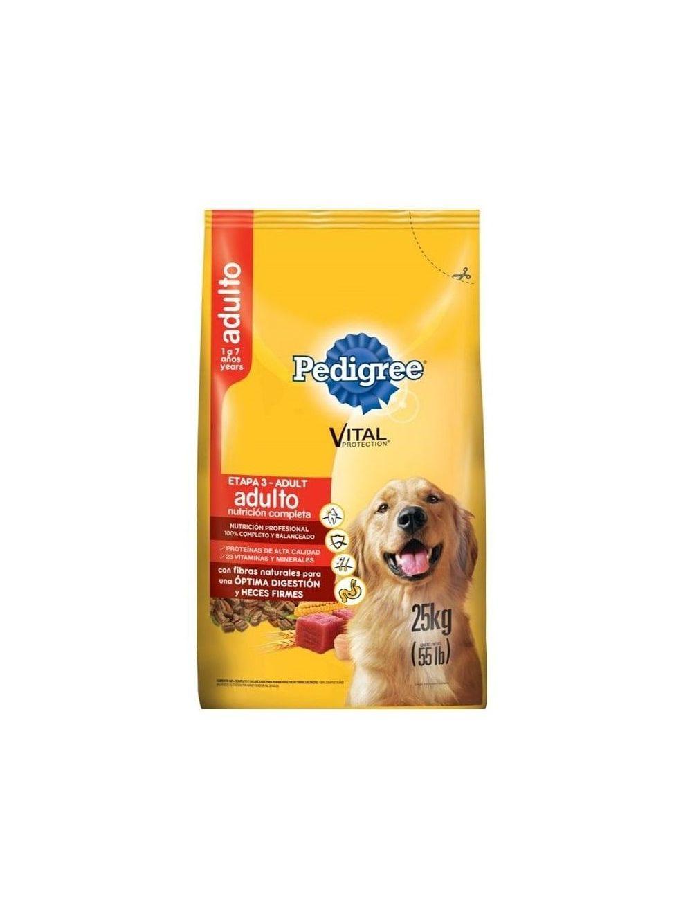 Comida para Perro Pedigree Adulto Nutrición-Ciudaddemascotas.com