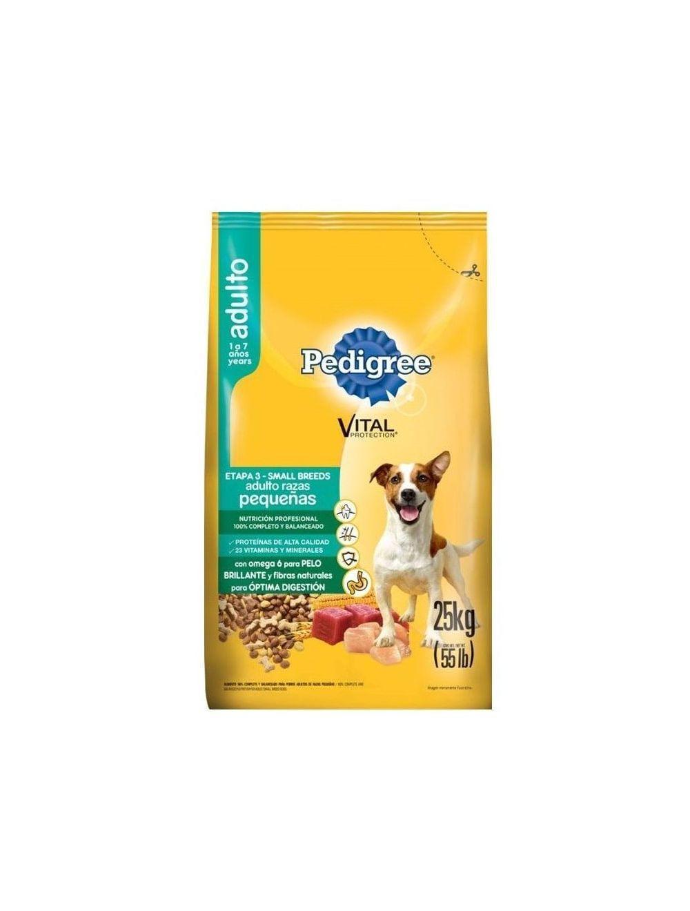 Comida para Perro Pedigree  Razas Pequeñas-Ciudaddemascotas.com