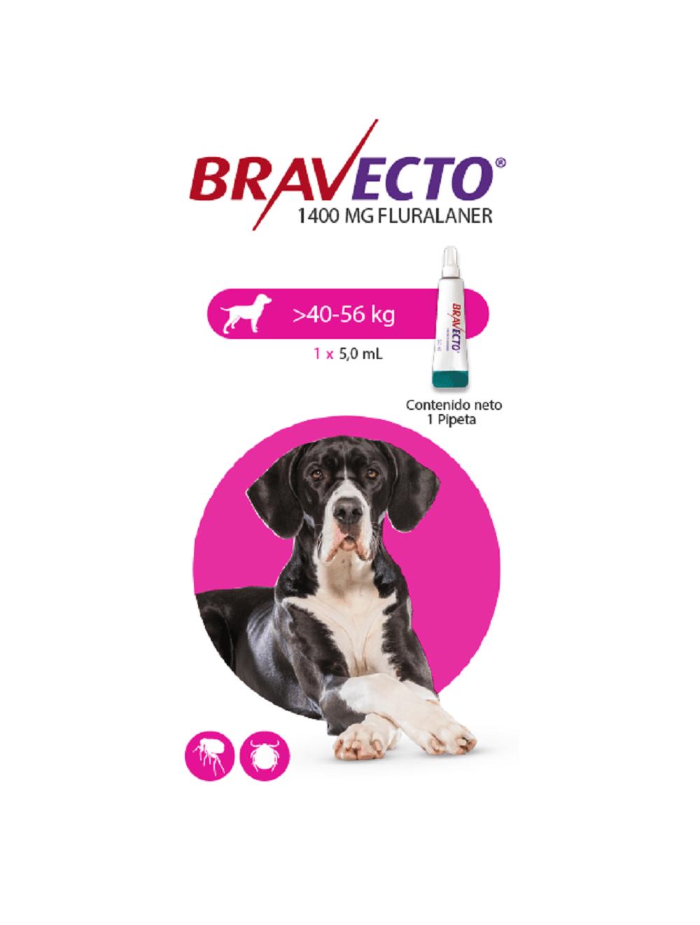 Bravecto Para Perro Spot on 40 - 56 Kg