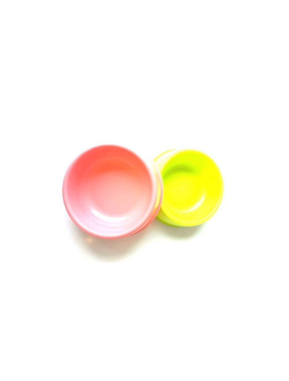 Comedero para perros en plástico color verde de 17.5 cm  - Ciudaddemascotas.com