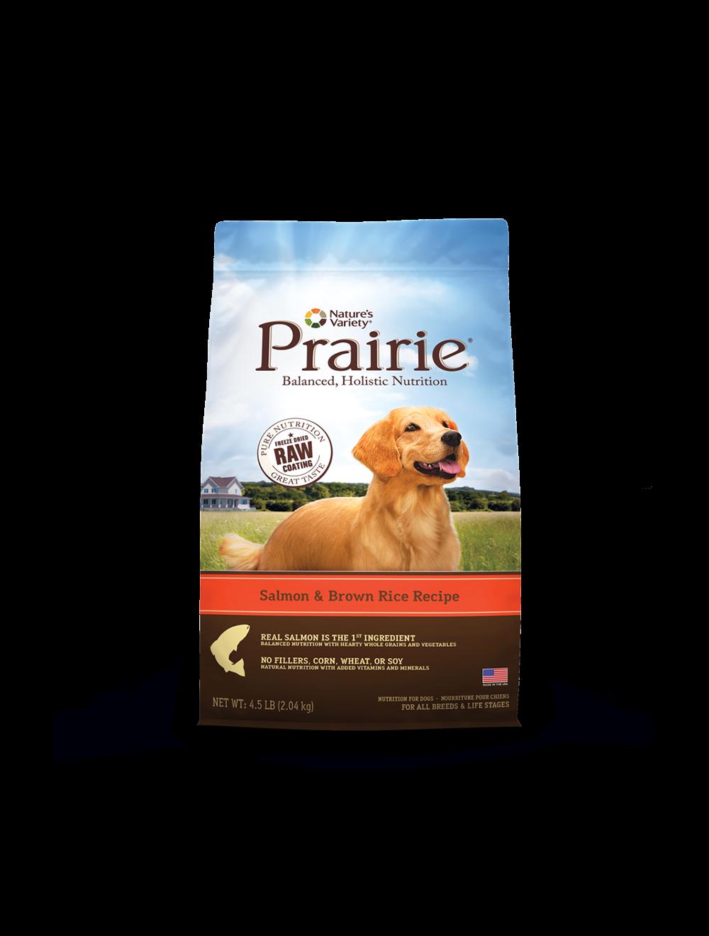 Comida Prairie Salmón y Arroz Integral-Ciudaddemascotas.com