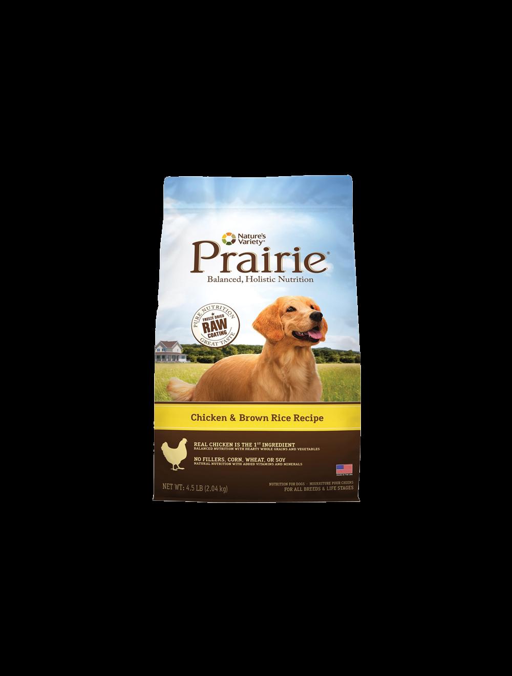 Comida para Perro Prairie pollo y arroz-Ciudaddemascotas.com