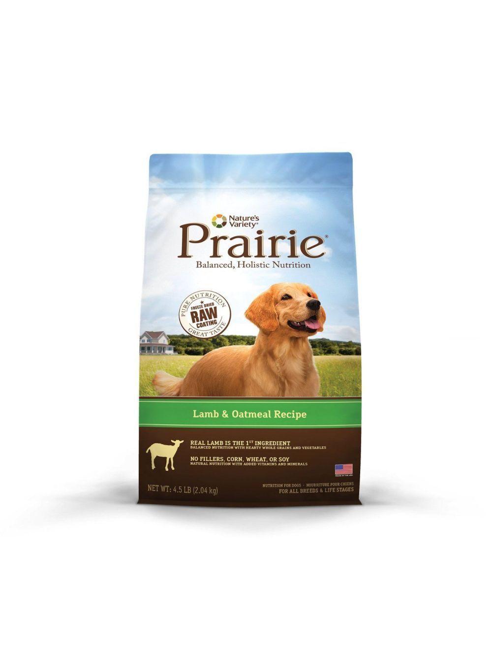 Comida Para Perros Prairie Cordero y Avena-Ciudaddemascotas.com