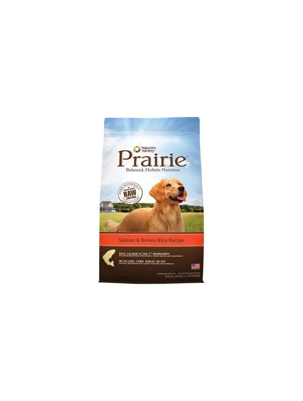 Comida para perro Prairie Salmon y Arroz -Ciudaddemascotas.com
