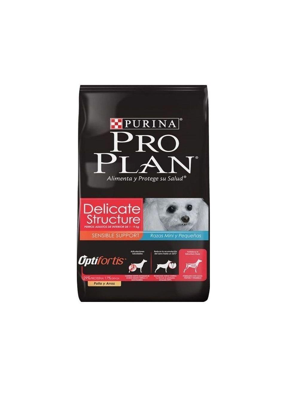 Comida para Perros Pro Plan Delicate Small-Ciudaddemascotas.com