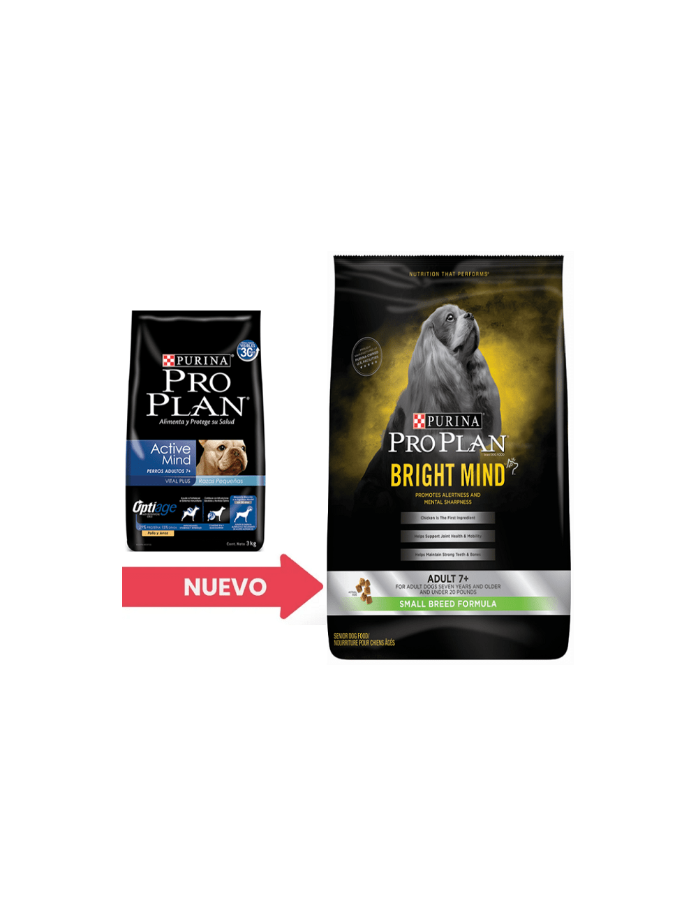 Pro Plan Perros 7+ Bright Mind Small Breed 2,26 kg