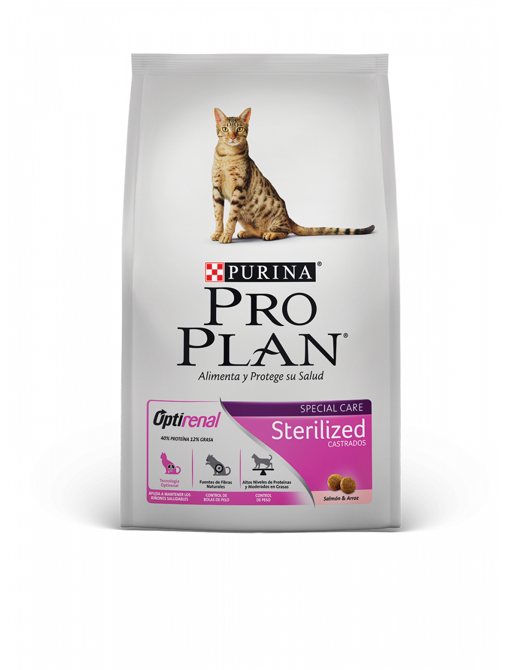 Comida Pro Plan Cat Sterilized Salmon - ciudaddemascotas.com