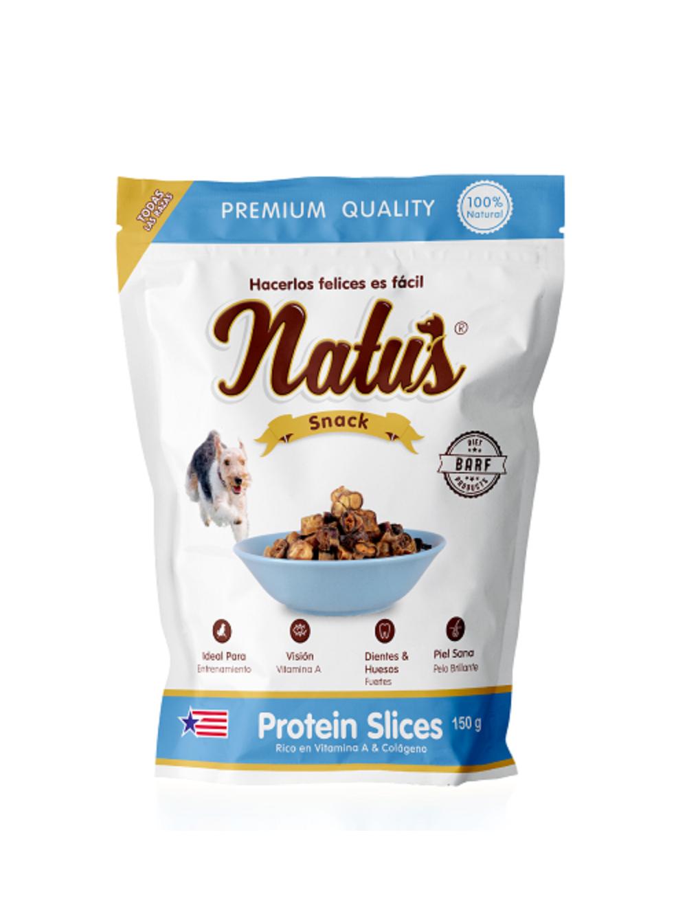 Natus Snacks Protein Slices