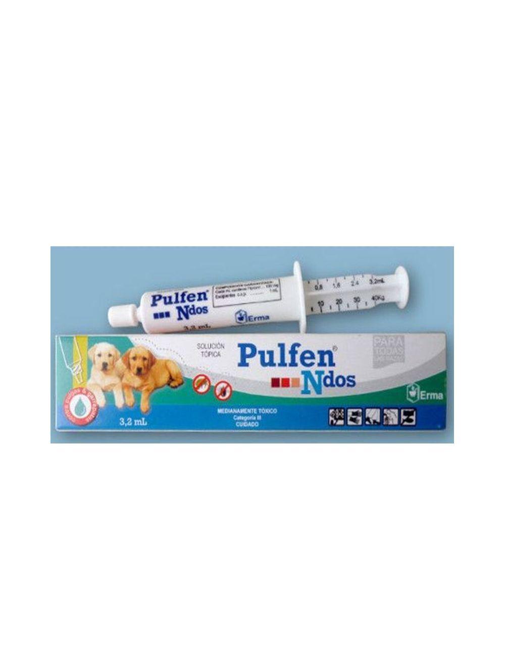 Antipulgas Pulfen Spot On Jeringa 3.2 ML - Ciudaddemascotas.com