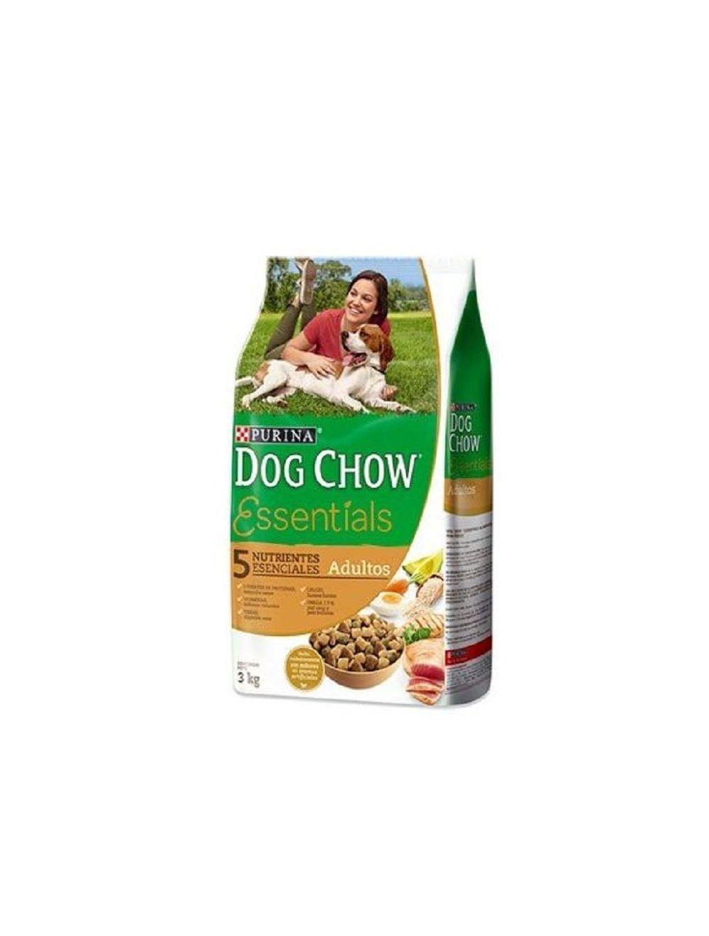 Dog Chow Adultos Essentials 1.5 KG - Ciudaddemascotas.com