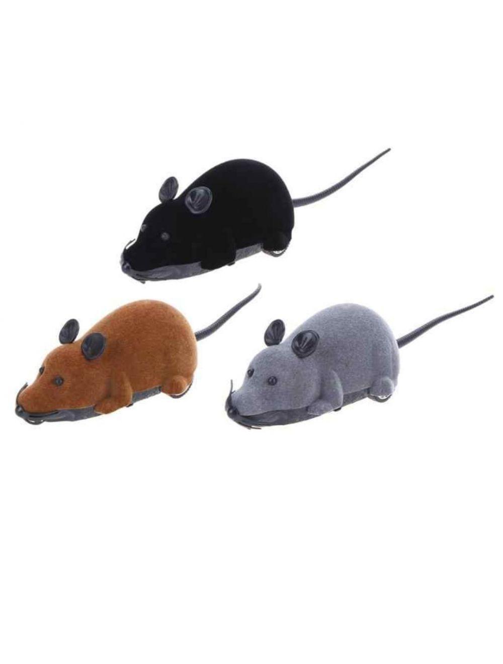 Ratón a control remoto juguete mascotas