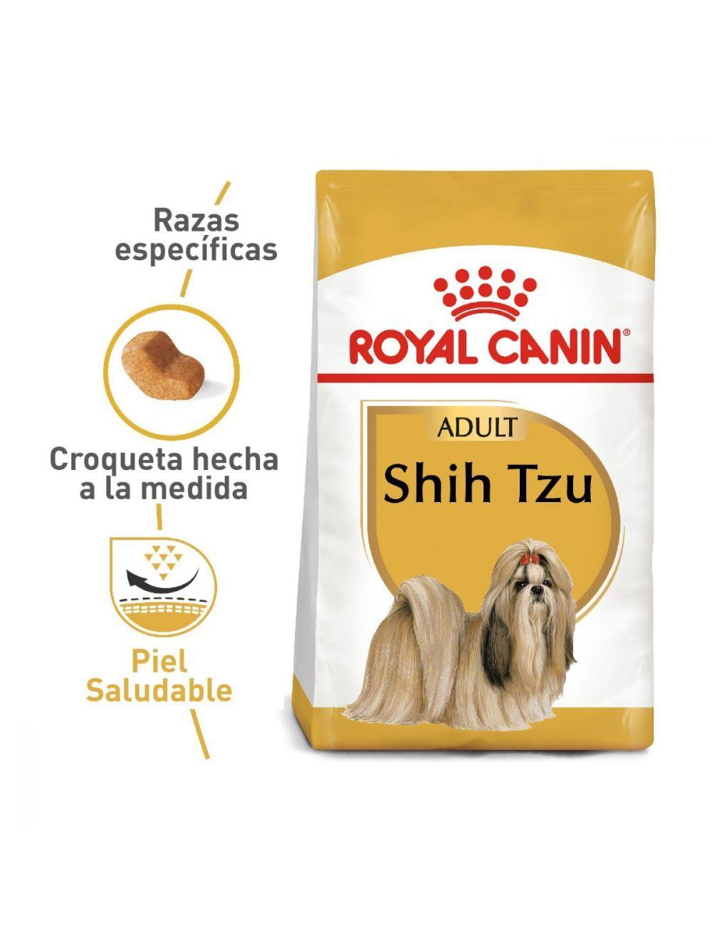 Royal Canin Breed Health Nutrition Shih Tzu Adulto 1.5 Kg - Ciudaddemascotas.com