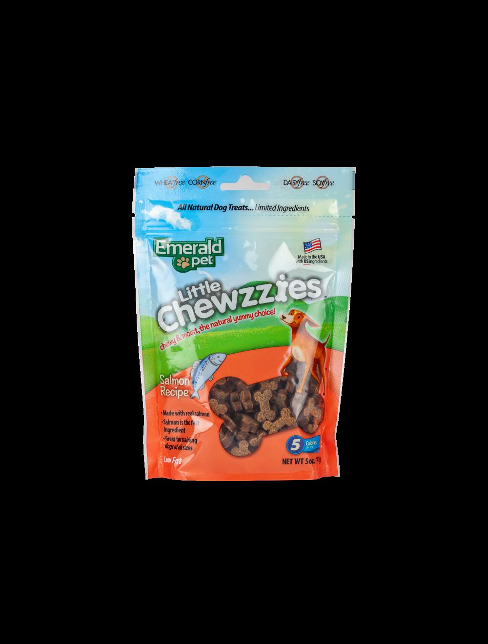 Snack para Perros Emerald Chewzzies Salmón-Ciudaddemascotas.com