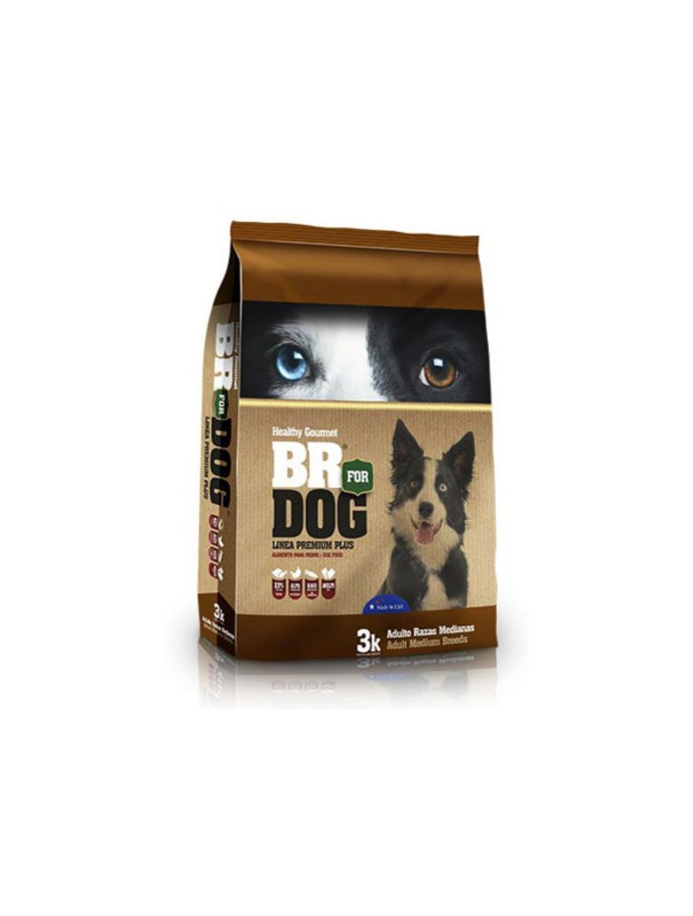 Br For Dog Adulto Raza Mediana 1 Kg