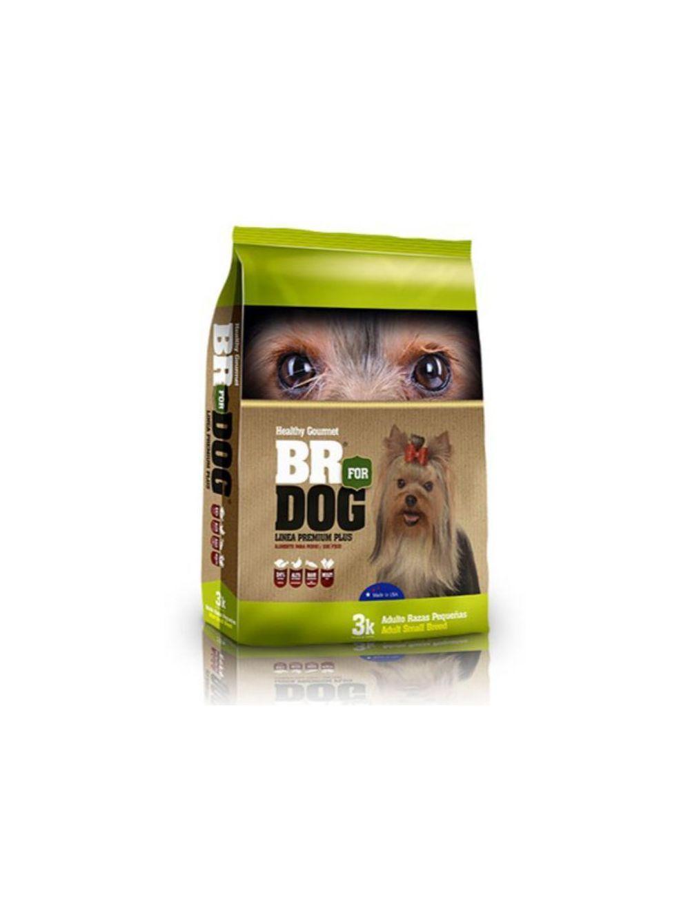 Br For Dog Adulto Raza Pequeña 3 Kg - Ciudaddemascotas.com
