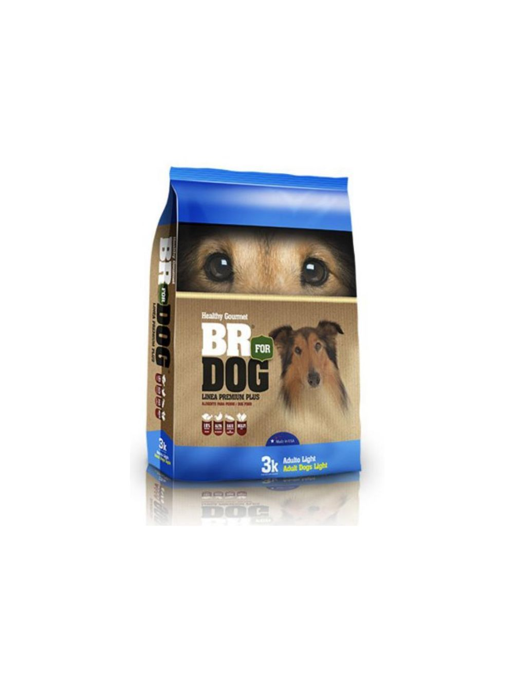 Br For Dog Adulto Ligth 3 Kg