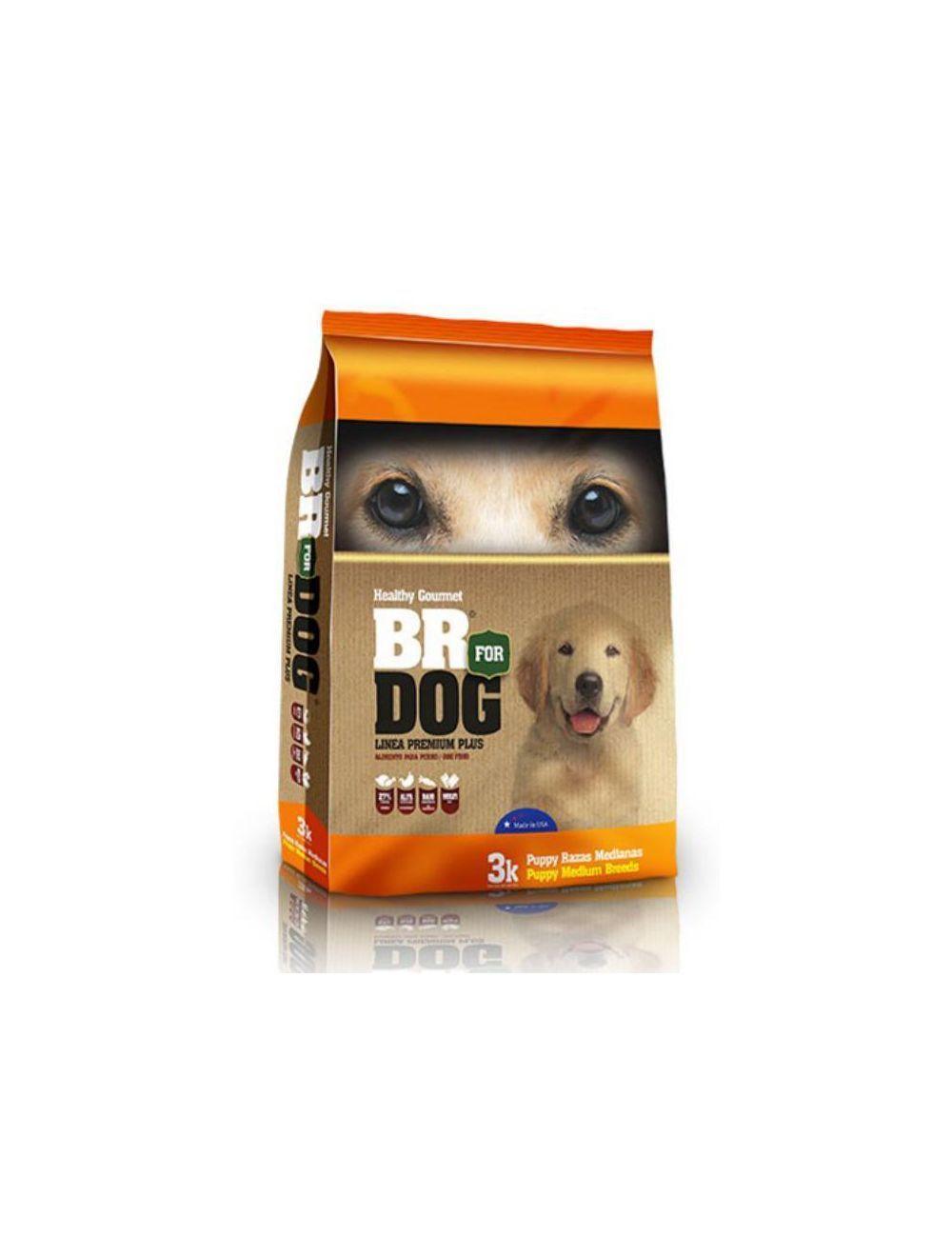 Br For Dog Puppy Raza Mediana 10 Kg - Ciudaddemascotas.com