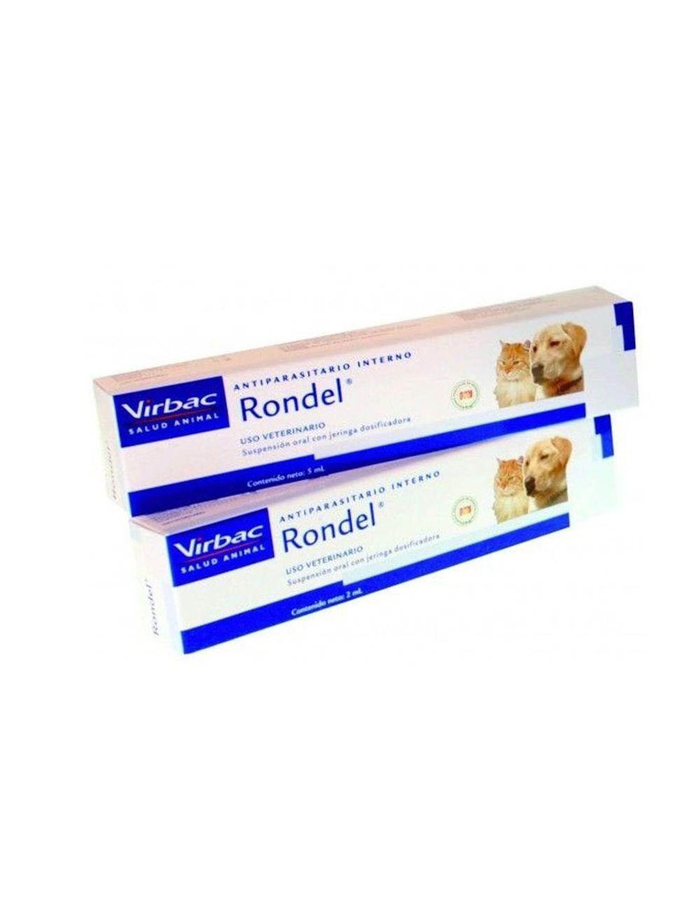 Antiparasitario Rondel para Perros y Gatos (2 ml)