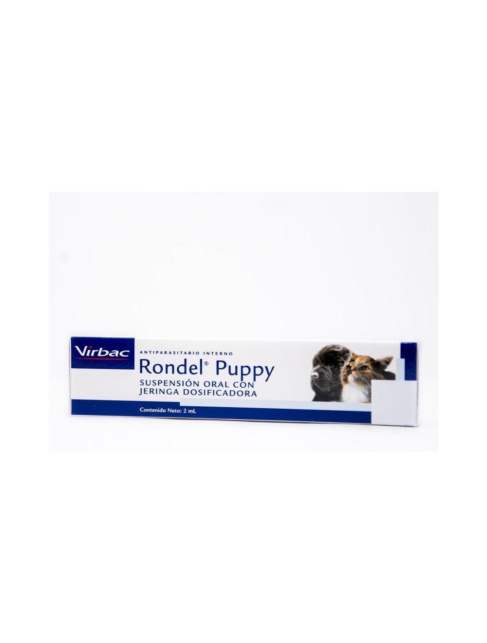Antiparasitario Rondel Puppy - Ciudaddemascotas.com