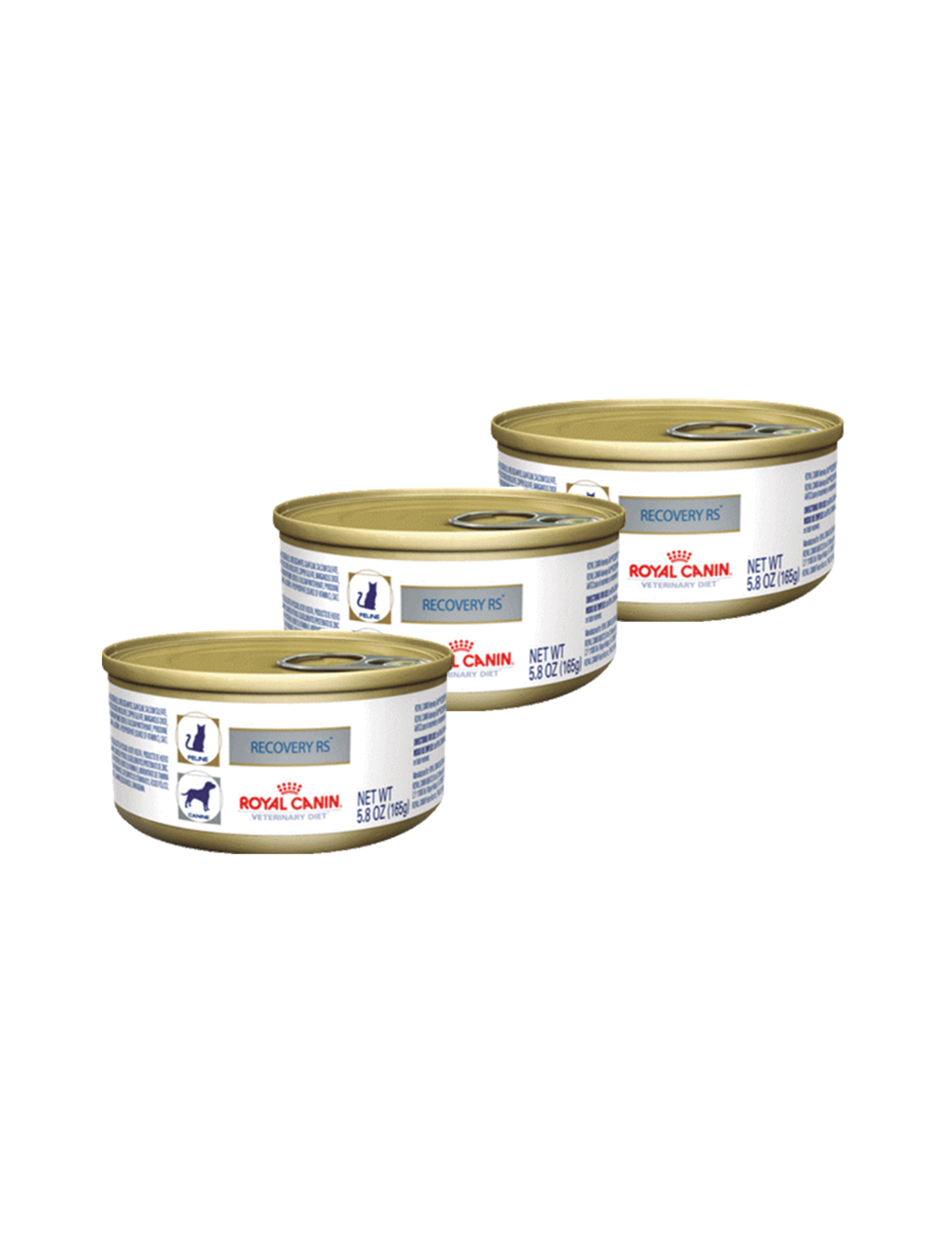 Royal Canin Lata Recovery Tripack x 164 gr
