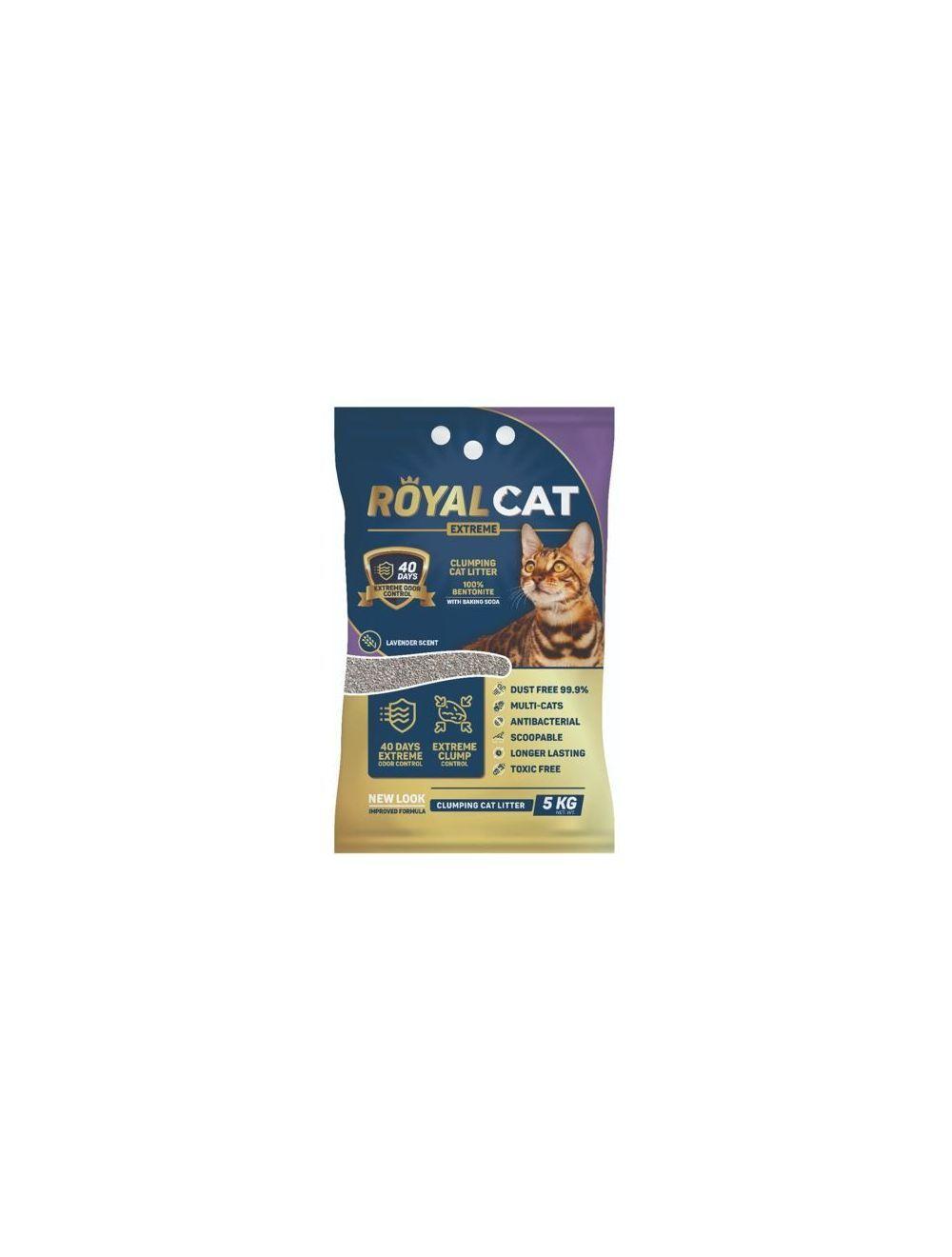 Royal Cat Arena Lavanda 5 Kg Bolsa - Ciudaddemascotas.com