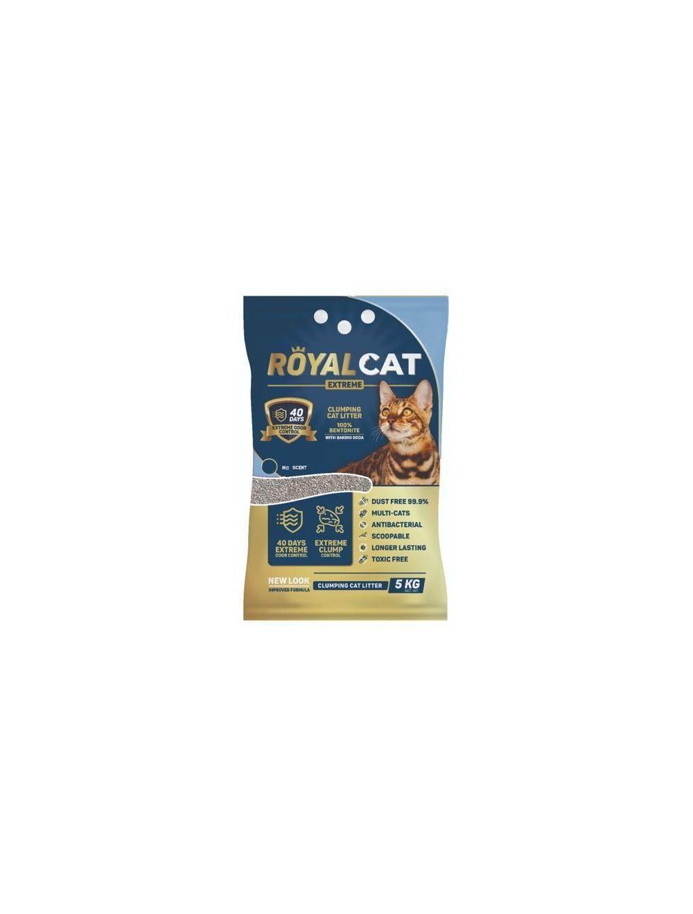Royal Cat Arena sin Olor 5 Kg Bolsa - Ciudaddemascotas.com